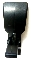 Faby Dispensing Handle, Push Type Black