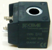 CEME220W - solenoid coil (30 x 33 x 35 mm) 220V