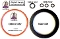 GGMK6 Gaggia Semiautomatic Models 6-pc. Tune-Up Gasket Kit