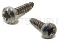 U140.019 SCREW TCB TORX 10 3X16 PLAST SS