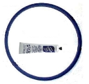W0340055 - Wilch Face plate Quad ring 130x120x5 mm + 30 gm tube of Lube.