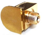 LaPavoni Level glass Lower support in Brass