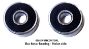 Elco Rotor Bearing set 626+608