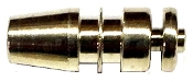 Nickled Brass cap for Boiler pin 119 Odea 0310