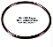 DM0041/082 - 12001208 Boiler Gasket Gaggia semiautomatic models. Saeco 996530054246 (Dm0041/082) Or 167 Epdm 70