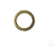 PAVONI BRASS WASHER FLAT ø 17x12x1 mm