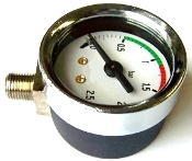 Pavoni steam Pressure Gauge Chrome polished