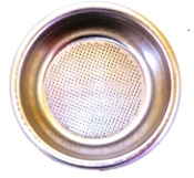 40100010 - Rancilio Two Cup Filter Basket 12 Grams