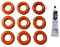 140328059/ - 996530013564 Saeco O-rings 02015 (9) w/30 gm.Lube. Use for Saeco, Gaggia, Spidem fully automatic models as seal for PTFE tube.