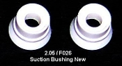 2.05 Faby Suction Bushing pair (Bell shaped)