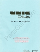 UNIC Diva Pre-1997 Parts and Wiring Diagram