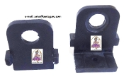 Mounting Rubber Pads W/Tabs For Ulka Pump (Pair)
