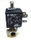 "2-Way Solenoid Valve 1/8"" FF with discharge 120V"