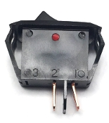 3373 Crtahco New On-Off Rocker Switch (Black)