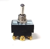 LEVER SWITCH 20A 250V threaded coupling M12x1 mm