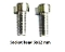 Socket head full thread bolts 6x12-mm